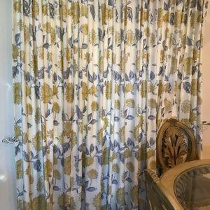 Windows curtains, set of 4